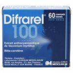 DIFRAREL 100 mg, comprimé enrobé à PARIS