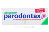 PARODONTAX DENTIFRICE GEL FLUOR 75ML x2 à PARIS