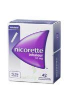 NICORETTE INHALEUR 10 mg Cartouche p inh bucc inhalation buccale B/42 à PARIS