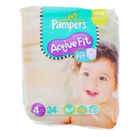 PAMPERS COUCHES ACTIVE FIT TAILLE 4 7-18 KG x 26 à PARIS