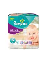 PAMPERS COUCHES ACTIVE FIT TAILLE 3 4-9 KG x 26 à PARIS