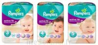 PAMPERS ACTIVE FIT PREMIUM PROTECTION, taille 4, 7 kg à 18 kg, sac 22 à PARIS