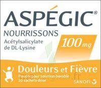 ASPEGIC NOURRISSONS 100 mg, poudre pour solution buvable en sachet-dose à PARIS