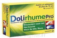 DOLIRHUMEPRO PARACETAMOL, PSEUDOEPHEDRINE ET DOXYLAMINE, comprimé à PARIS