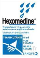 HEXOMEDINE TRANSCUTANEE 1,5 POUR MILLE, solution pour application locale à PARIS