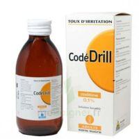 CODEDRILL SANS SUCRE 0,1 POUR CENT, solution buvable édulcorée à la saccharine à PARIS