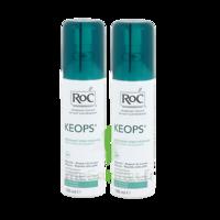 Roc keops déodorant fraîcheur 100ml x2 à PARIS