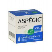ASPEGIC 500 mg, poudre pour solution buvable en sachet-dose à PARIS