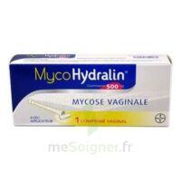 MYCOHYDRALIN 500 mg, comprimé vaginal à PARIS