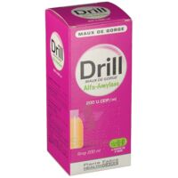 DRILL MAUX DE GORGE ALFA AMYLASE 200 U.CEIP/ml, sirop à PARIS